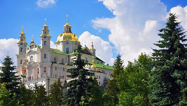 tur po svyatym mesta ukrainy pochaevskaya lavra glav